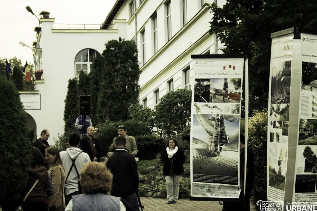 Expozitia Concursul De Arhitectura pentru Spațiul Public