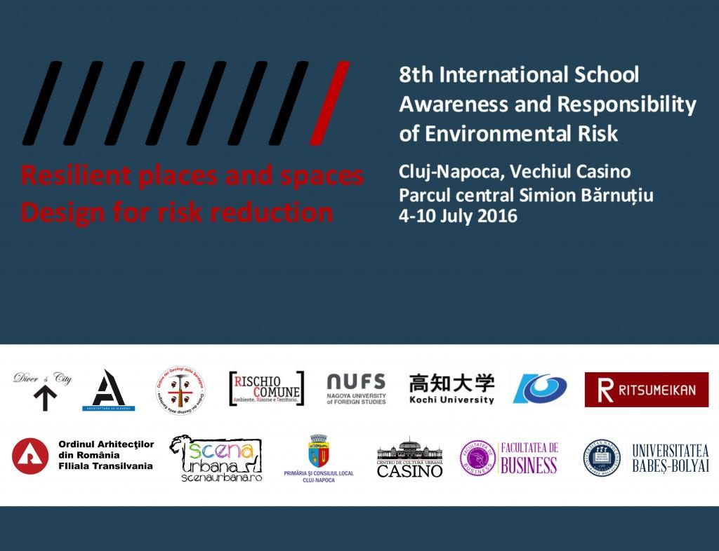 Ediția a 8-a a International School of Awareness and Responsibility of Environmental Risk la Cluj-Napoca